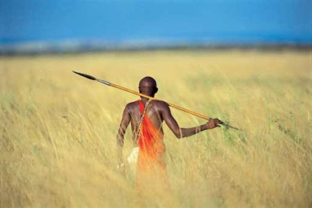 Maasai Warrior Mara