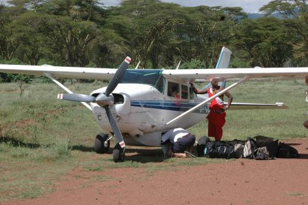 Samburu Masai Mara Flight